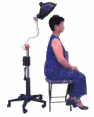 woman using Sky Eye Radiator