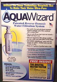 Aquawizard Reverse Osmosis Water Filter