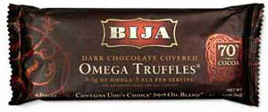 bija omega truffle - dark chocolate