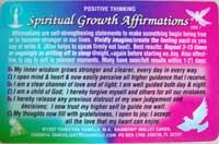 CSV11 - Spiritual Growth Affirmations