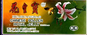 Huahuangbao Chinese Pollen Royal Jelly