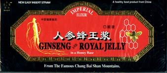 Imperial Ginseng and Royal Jelly