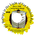 dvd - healing light talk about far infrared ray