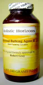 intestinal bulking agent - new improved with onion & spirulina