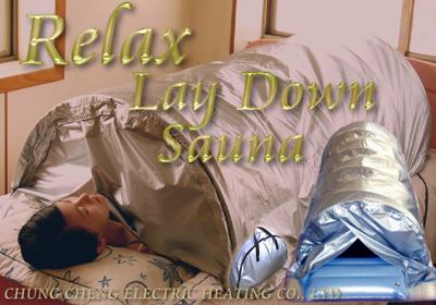 lie down sauna