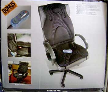 Massaging Seat Pad
