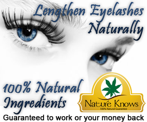 Nature Knows Natural Eyelash Lengthener Lengthen Eyelashes Naturally