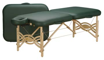 new spirit massage table by Earthlite